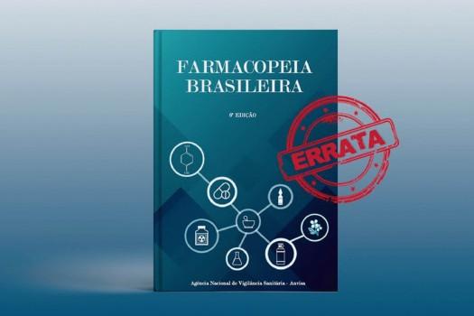 Errata - Farmacopeia Brasileira 6ª edição